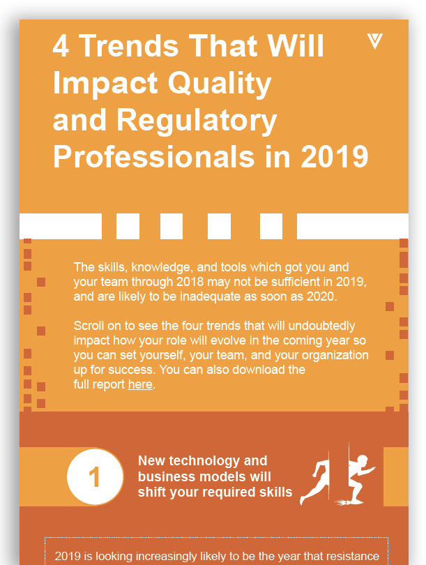 4 Trends that Will Impact Quality & Regulatory in 2019 (White Paper)