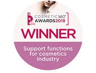 Cosmetic 360 Awards 2018