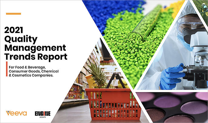 Cover Image - 2021 Quality Management Trends Report