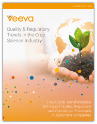Quality & Regulatory Trends in the Crop Science Industry