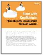 Float with Confidence: 7 Cloud Security Considerations You Can't Overlook