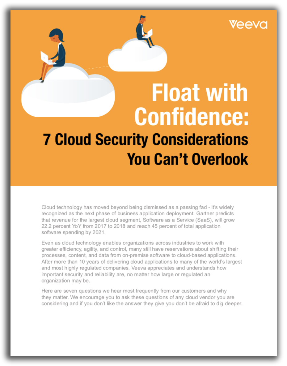 Float with Confidence- 7 Cloud Security Considerations You Can't Overlook