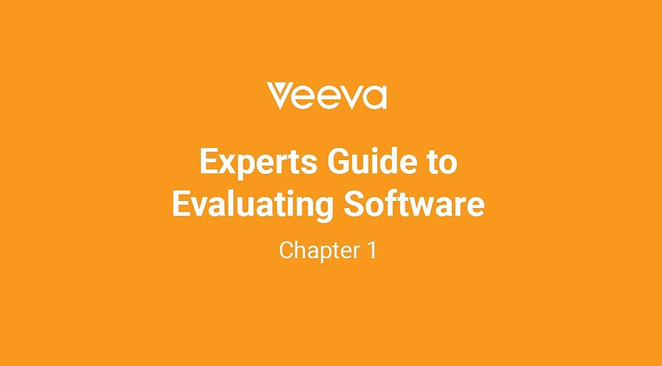 Expert's Guide to Evaluating Software: Chapter 1
