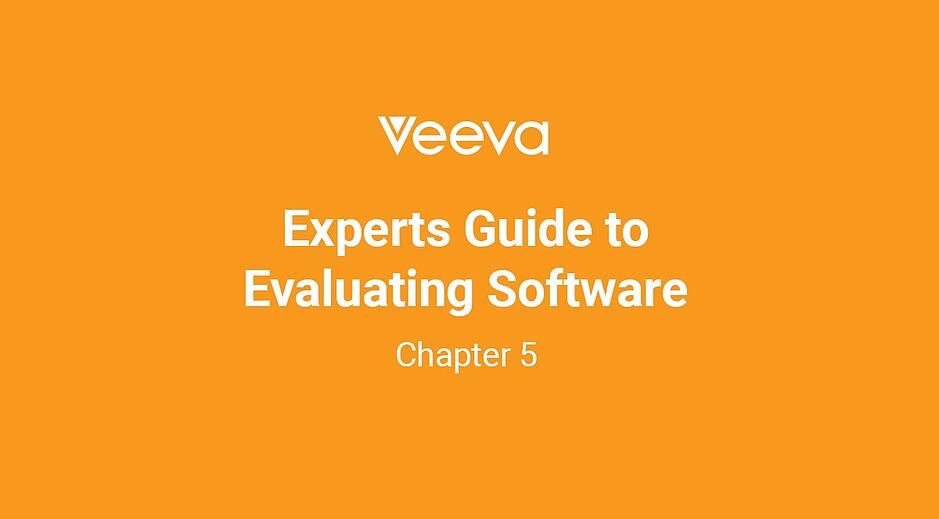 Expert's Guide to Evaluating Software: Chapter 5