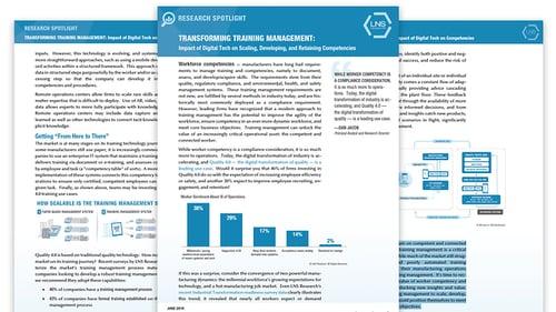 LNS Transforming Training Management