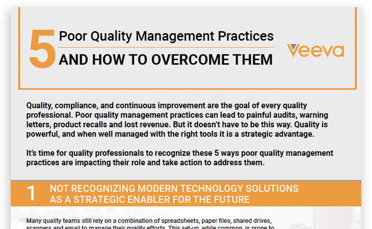 5 Poor Quality Management Practices and How to Overcome Them