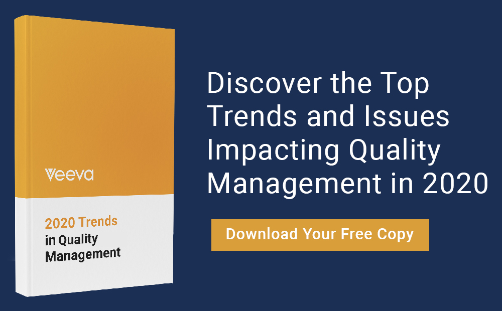 2020 Trends in Quality Management Report