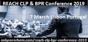 REACH CLP & BPR Conference 2019