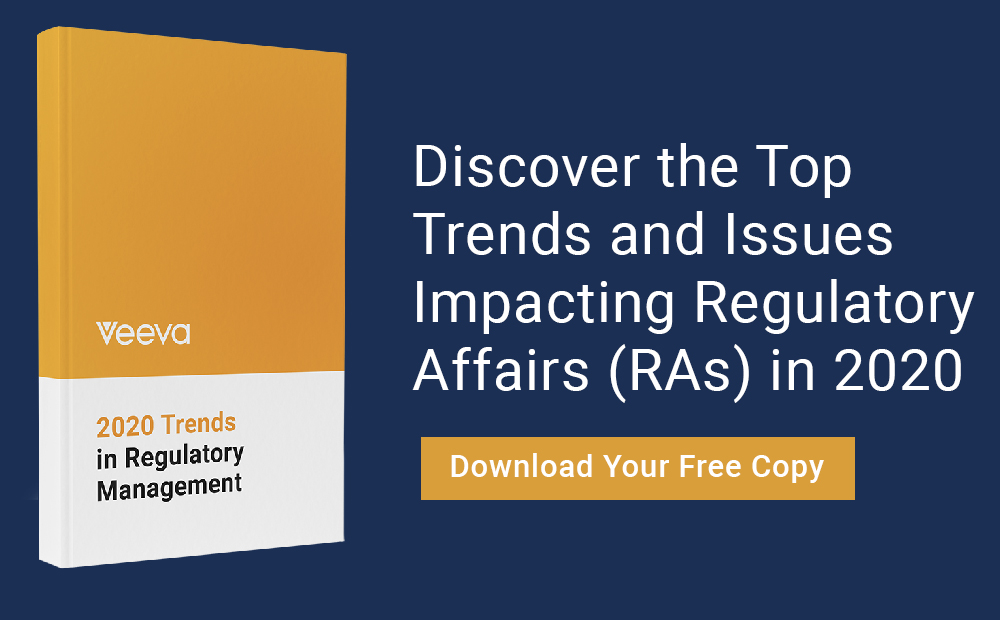 2020 Trends in Regulatory Management Report