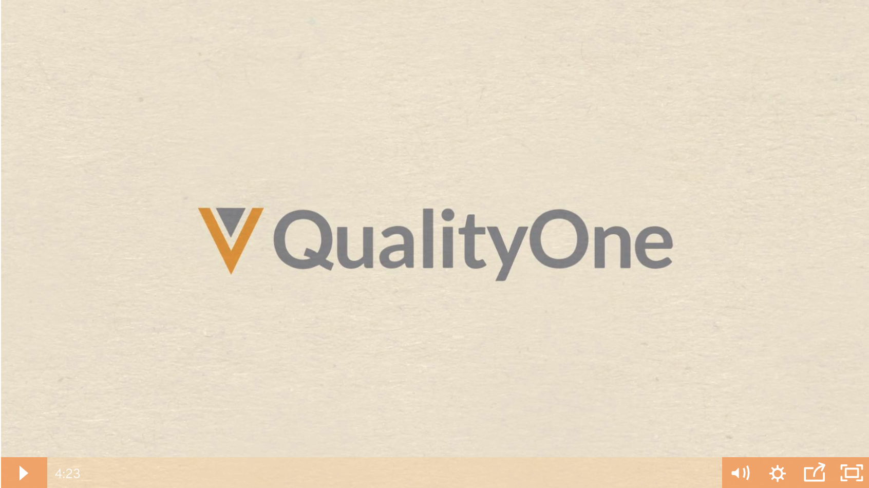 Veeva QualityOne Demo