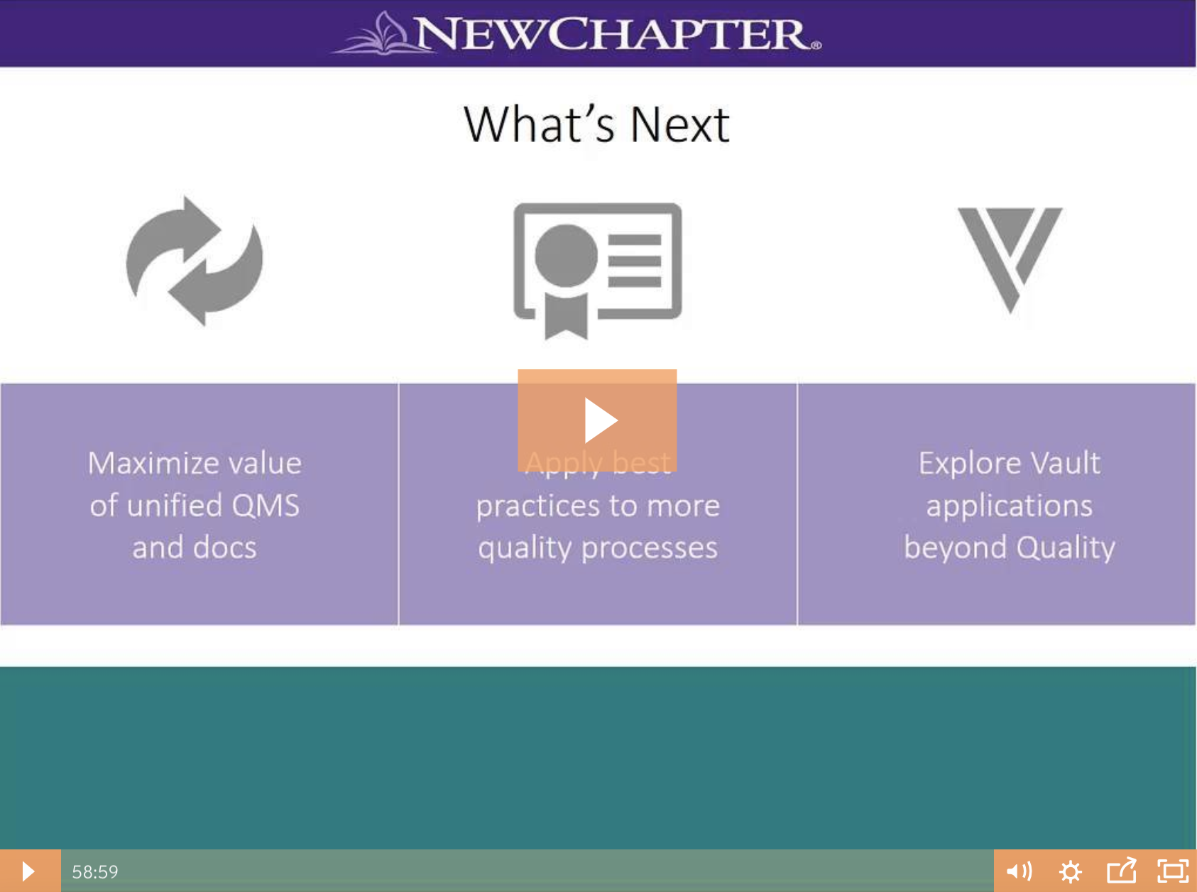 New Chapter Webinar