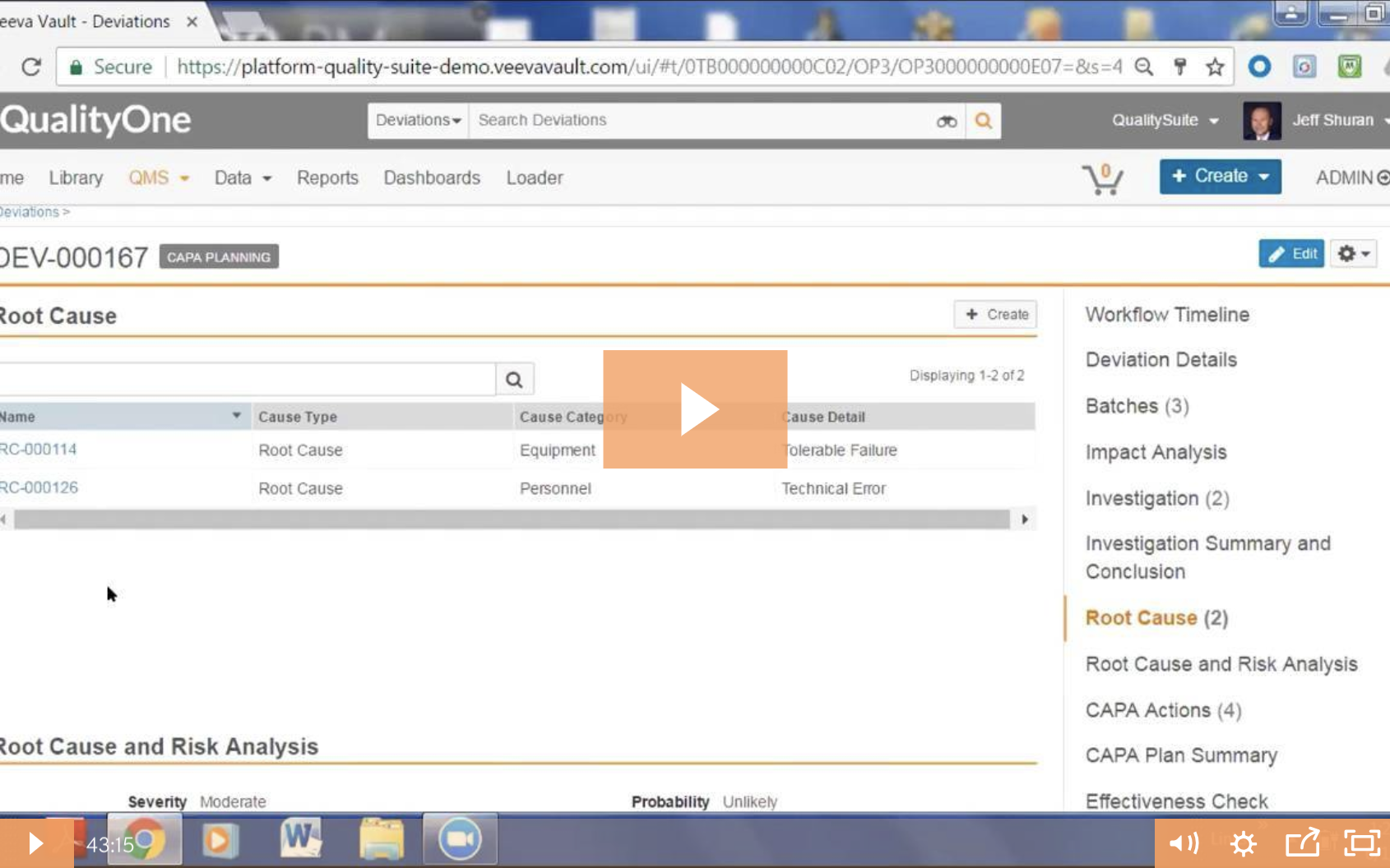 Transform Your Supplier Quality Management with Veeva QualityOne