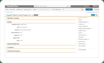 Supplier-Screen