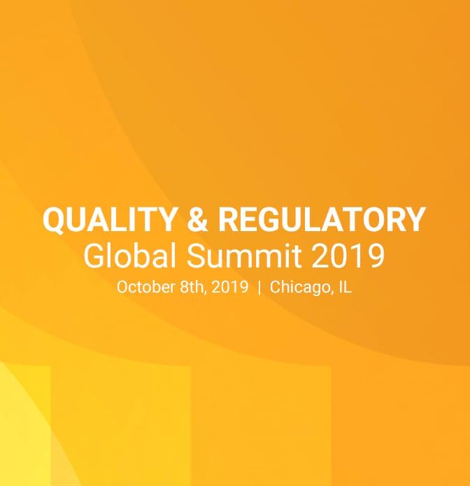 Veeva Quality and Regulatory Global Summit 2019