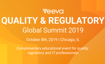 Veeva Quality & Regulatory Summit 2019