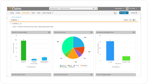 Claims Management Dashboard