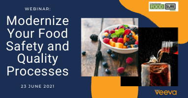 Modernizing Food Safety and Quality Processes