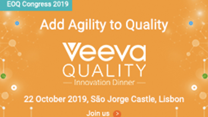 2019 EOQ Congress- Veeva Quality Innovation Dinner