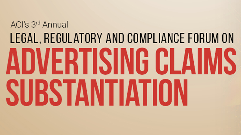 Advertising Claims Substantiation Conference 2020