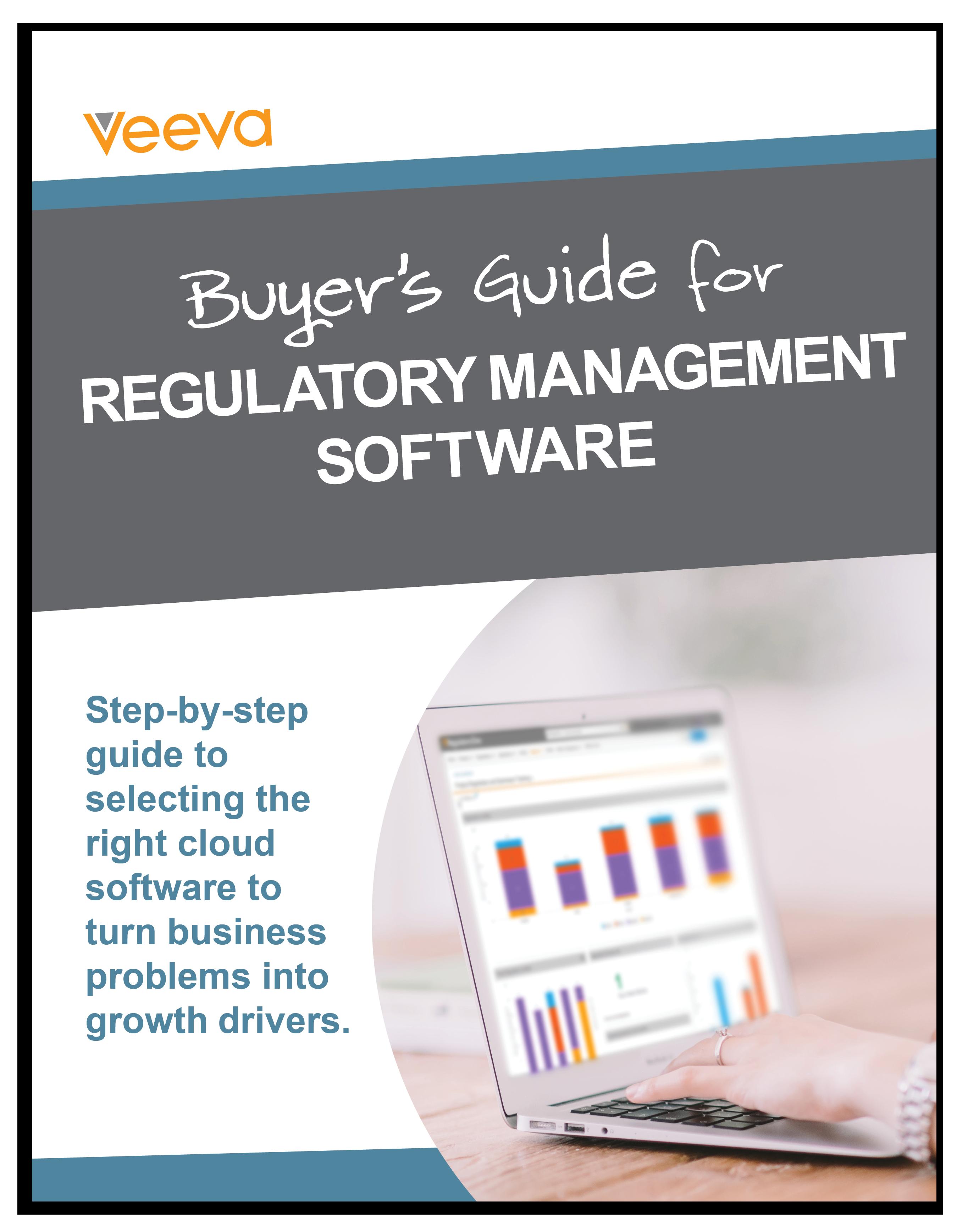 Buyer's Guide for Cloud Regulatory Management Software eBook