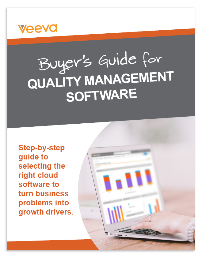 Buyer's Guide to Quality Management Software eBook Cover