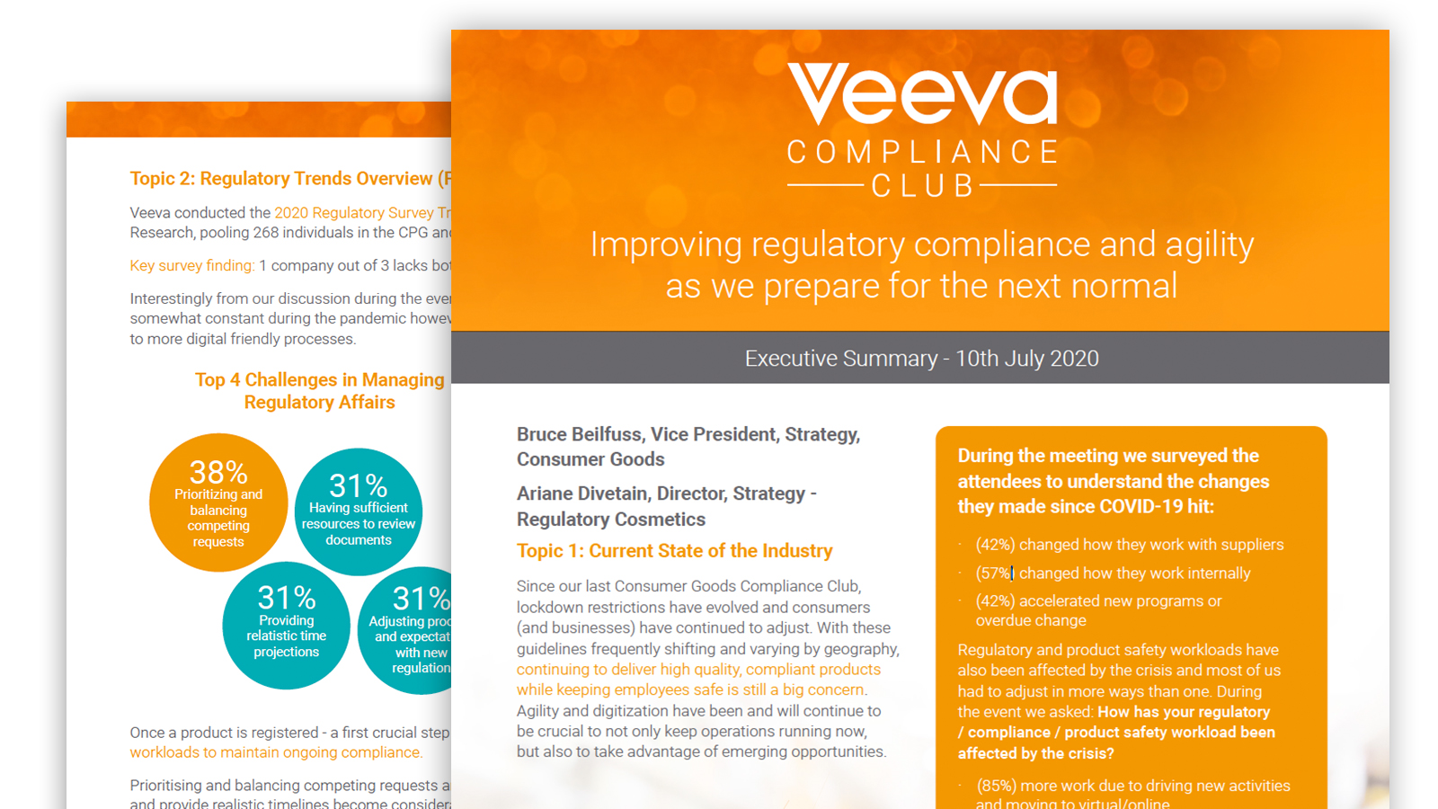 CPG Compliance Club Executive Summary - 10 July 2020