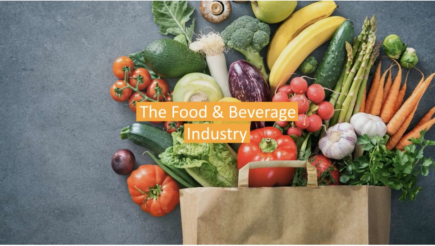Food and beverage industry video