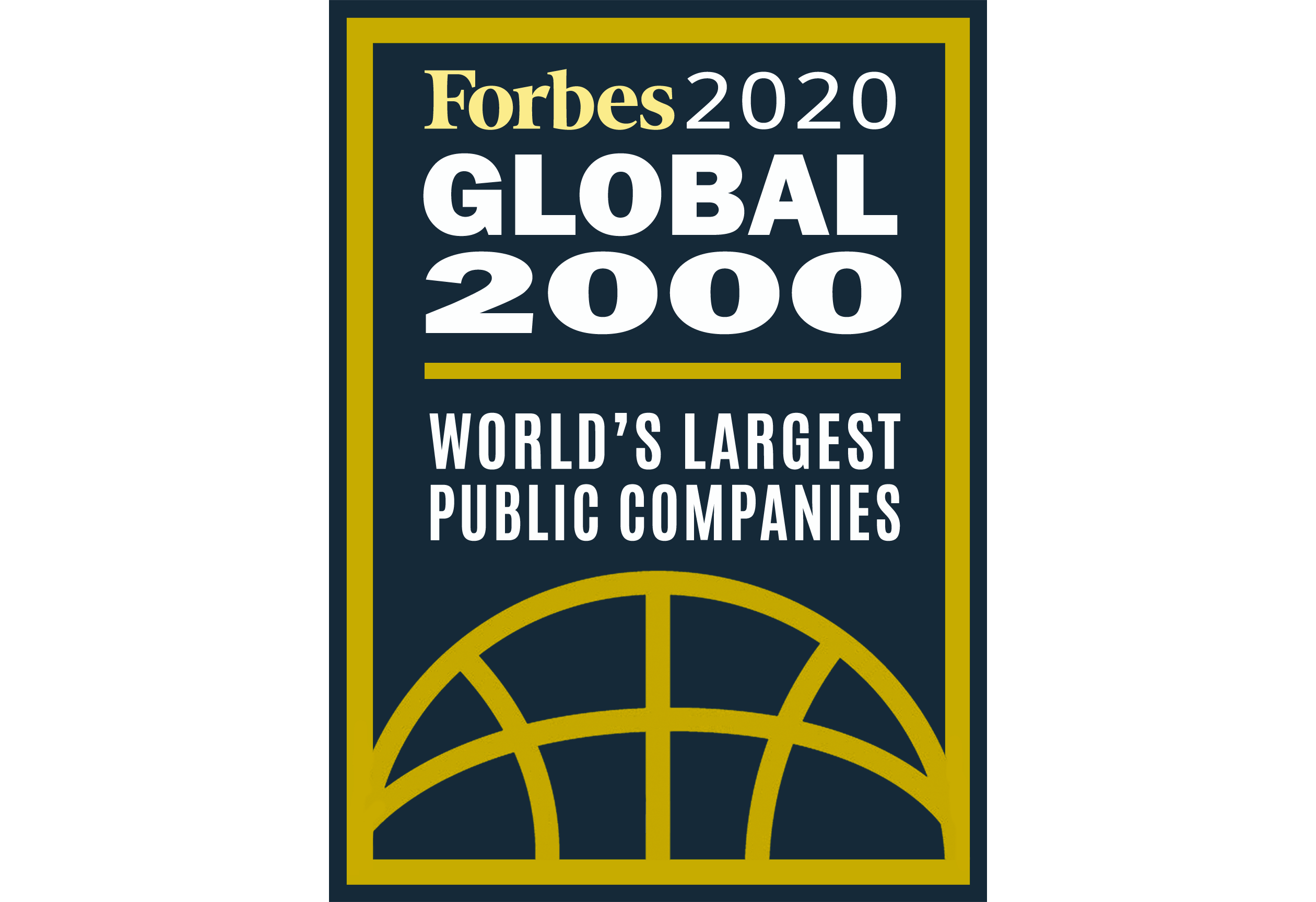 Forbes 2020 Global 2000 World's