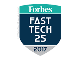 Forbes Fast Tech 25 2017