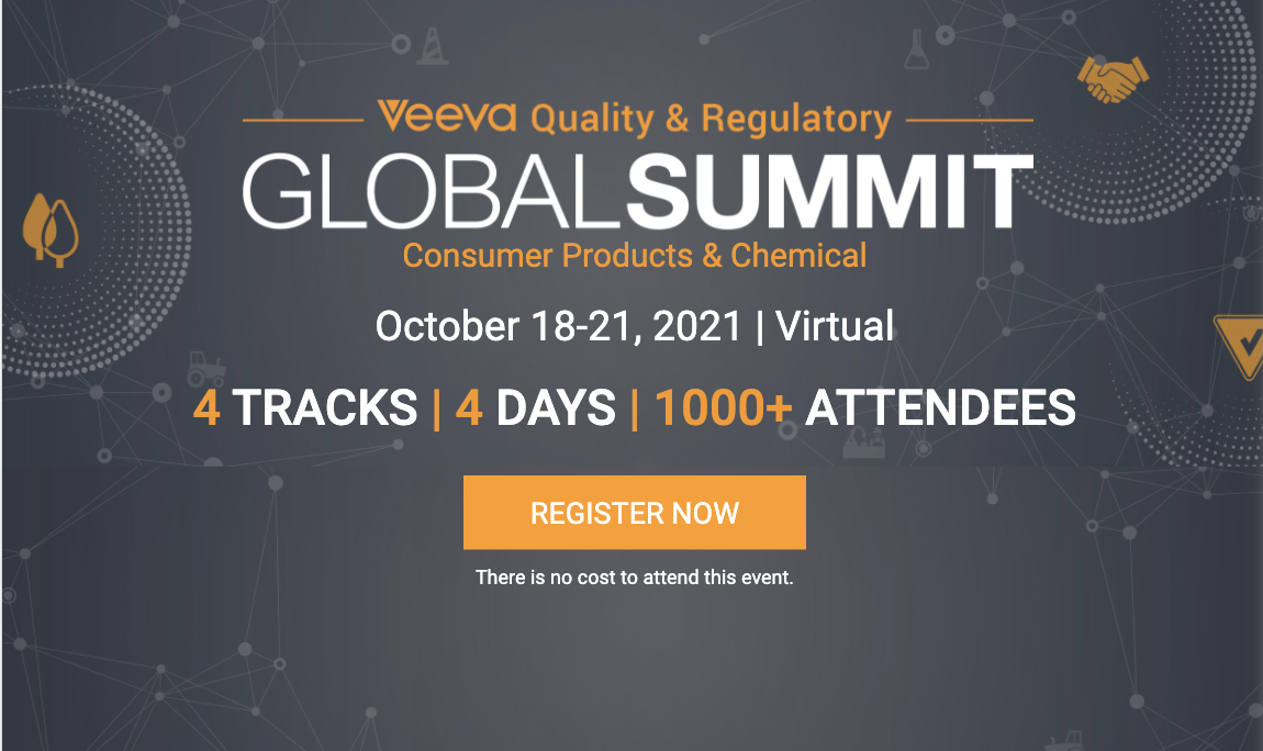 Unilever, Reckitt, BASF, Estée Lauder, HBS, AWS, and Kearney Among Speakers at Veeva's Global Summit for Consumer Goods and Chemical Industries