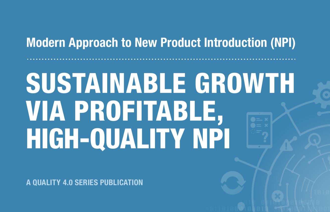 Modern Approach to New Product Introduction (NPI) Sustainable-070704-edited