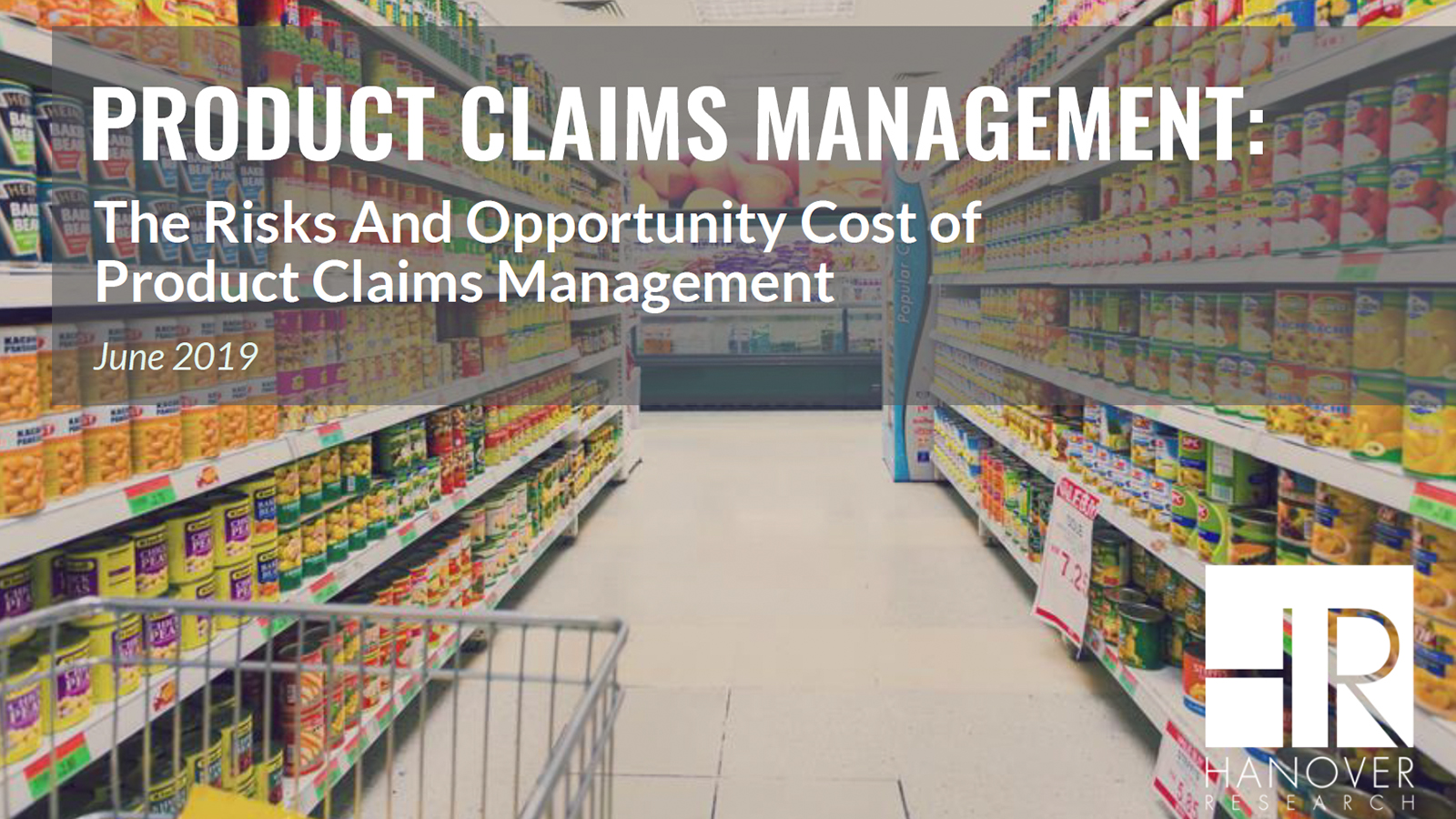Product Claims Report