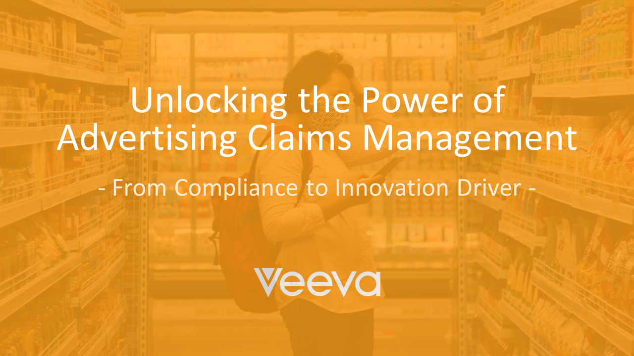 Unlock the Power of Advertising Claims Management – Using Claims as an Innovation Driver in the Food and Beverage Industry
