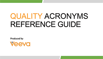 Quality Acronyms Reference Guide