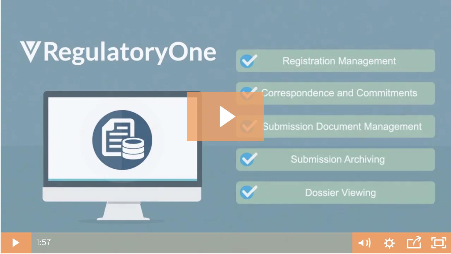 RegulatoryOne video