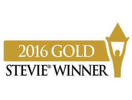 2016 Gold Stevie Winner