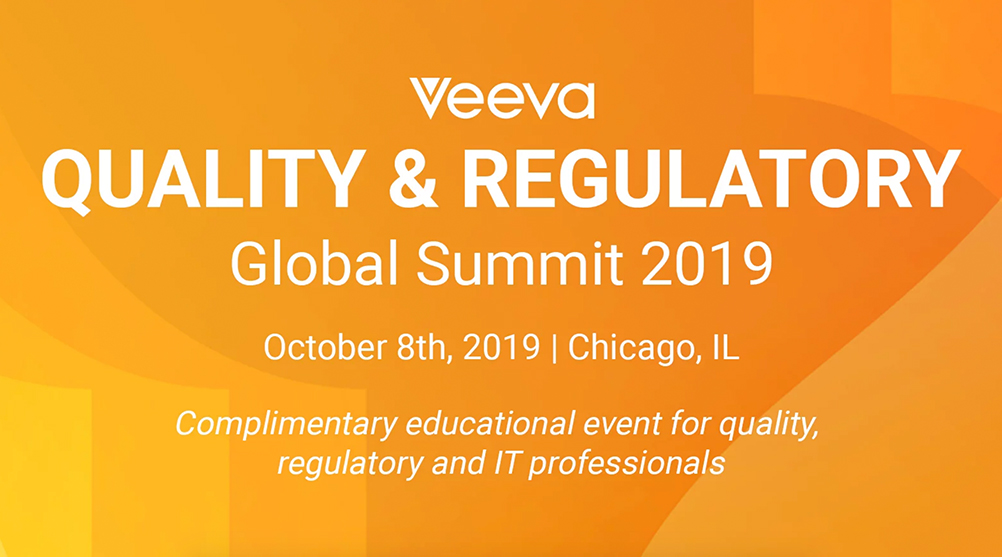 Veeva Quality & Regulatory Summit