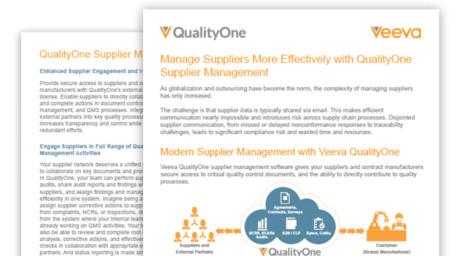 Supplier Quality Management Brief
