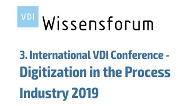 VDI Conference - Digitization in the Process Industry