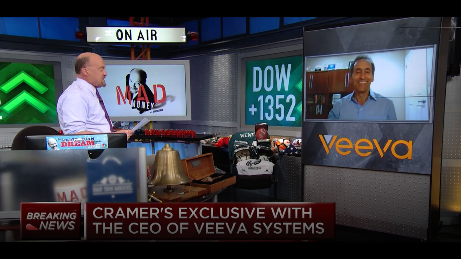 Veeva Systems CEO Peter Gassner speaks with CNBC's Jim Cramer