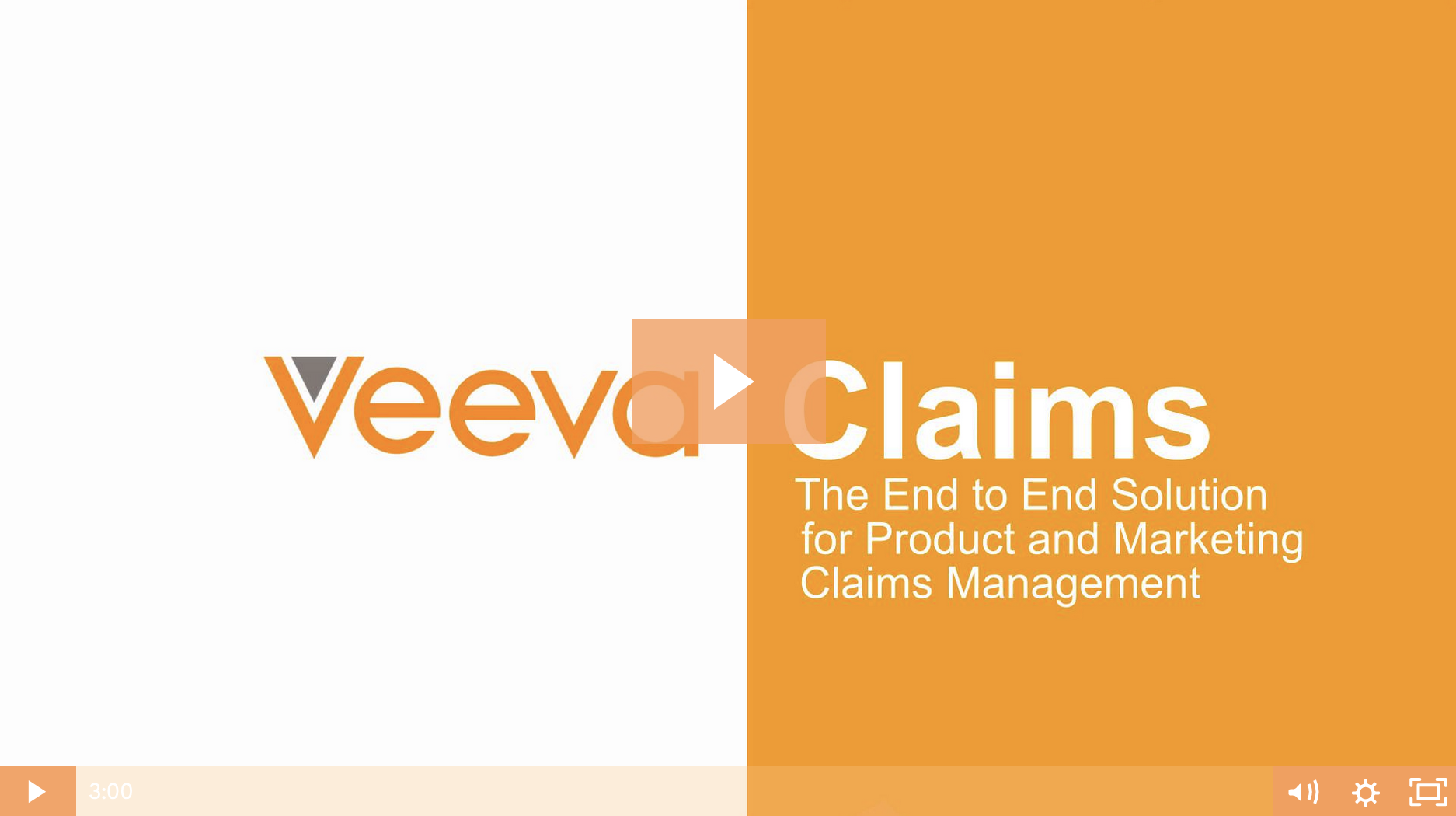 Veeva Claims Product Video