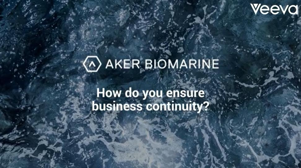Aker BioMarine, how do you ensure business continuity?