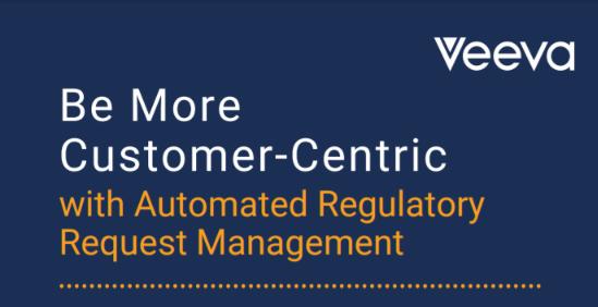 Veeva RegulatoryOne Regulatory Requests Infographic