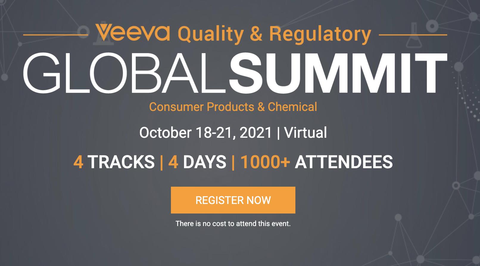 Quality & Regulatory Global Virtual Summit 2021